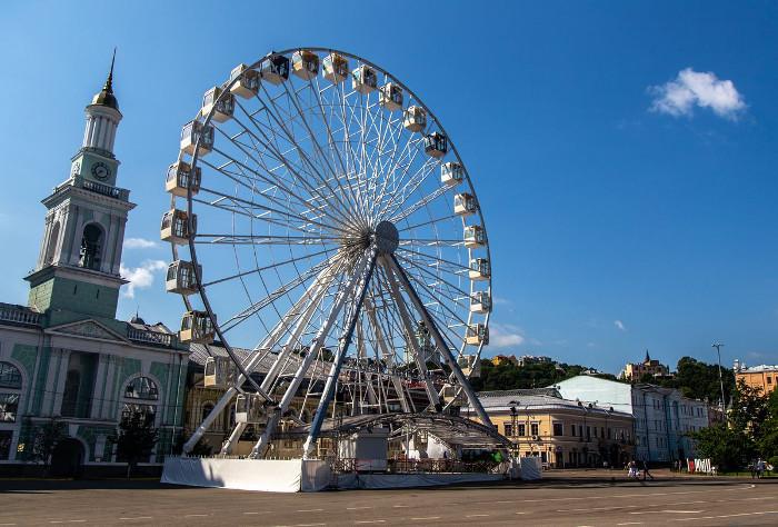 Закрутилось: де в Києві покататись на чортовому колесі - Вікенд